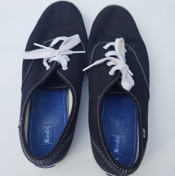 Keds Shoes   Womens Size 10 Navy Blue